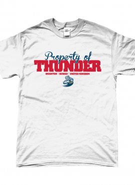 Thunder Property – Fitted Tshirt
